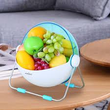 lifewit 360 rotatable lid fruit washing bowl lifewitstore