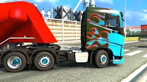 volvo cabover trucks euro truck simulator 2 volvo fh truck cement transport youtube
