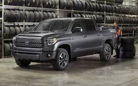 toyota tundra chicago 2018 toyota tundra gets a mild facelift and a trd sport version