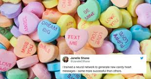 candy hearts these ai generated candy hearts are everything should be anith