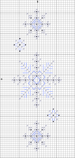 cross stitch snowflake patterns free snowflake patterns for