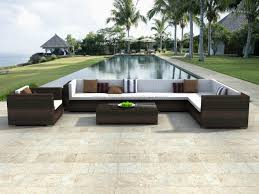 Outdoor Patio Wicker Furniture by Sectional Patio Furniture Sets