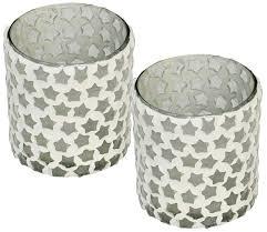 bulk handmade glass tealight holder set of 2 distributors
