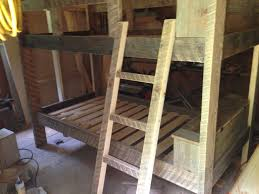 Barnwood Bunk Beds Crafted Reclaimed Bunk Bed By Greene Pepper Woodworking