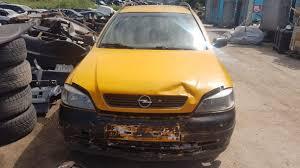 opel yellow opel astra naudotos automobiliu dalys naudotos dalys