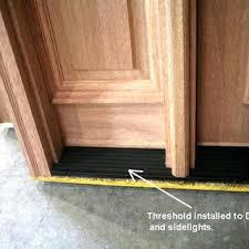 Wooden Exterior Door Threshold Wooden Door Threshold Exterior Handballtunisie Org