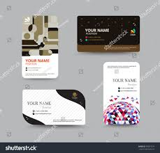 business card template business card layout stock vector 289874579