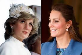 earrings kate middleton middleton inherited jewelry from princess diana