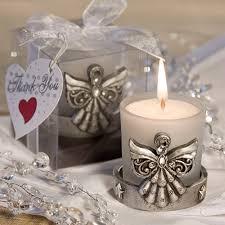 favors for baptism angel candle holder baptism favors
