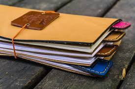 travelers notebook images Handmade leather paper clips for traveler 39 s notebook galen leather jpg