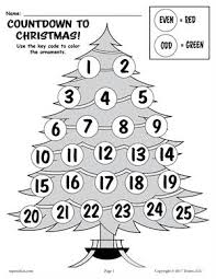 free christmas worksheets and christmas printables