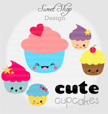 clip art cartoon cute baby shower cupcakes clipart clip art library