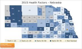 Map Of Counties In Nebraska Nebraska Rankings Data County Health Rankings U0026 Roadmaps
