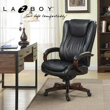Office Chairs La Z Boy Big U0026 Tall Executive Leather Office Chair