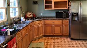 Kitchen Cabinets Resurface Kitchen Cabinet Resurfacing For Less Than 200 Will Knock Your