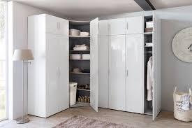 armoire d angle adulte design laquée blanche shella armoire d