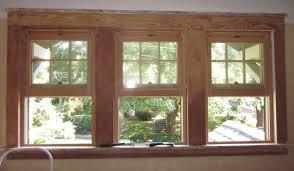craftsman window trim styles