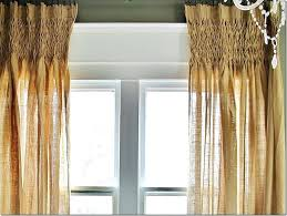 Linen Drapery Panels Burlap Curtain Panels 95 Smocked Linen Drapery Panels Smocked
