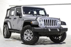 jeep rubicon white 2015 2015 jeep wrangler unlimited sport stock 738822 for sale near