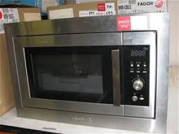 Fagor Toaster Oven Microwave Oven Fagor Fitted With Trim Kit Model Mwb 23egx 23