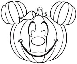 halloween mickey mouse pumpkin 521551 coloring pages for free 2015