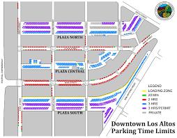 Iup Map Downtown Employee Parking Permit Program City Of Los Altos