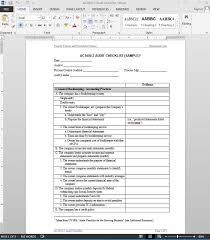 audit checklist template hr audit checklist questionnaire audit