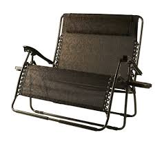 Bliss Zero Gravity Lounge Chair Bliss Hammocks 2 Person Gravity Free Recliner With Pillow Page 1