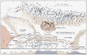 The Hobbit Map Angband The One Wiki To Rule Them All Fandom Powered By Wikia