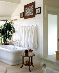 bathroom towel hooks ideas bathrooms attic bathroom with white bathtub near woode side