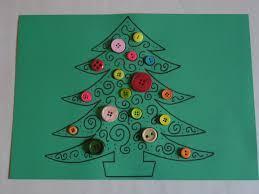 button craft christmas tree u2013 let their light shine