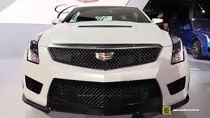 Cadillac Ats Coupe Interior 2016 Cadillac Ats V Coupe Exterior And Interior Walkaround