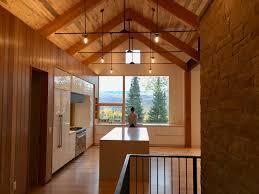 modern timber kitchen colorado mountain house modern kitchen ikea cabinets kitchen