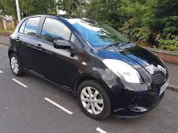 toyota yaris 2007 black toyota yaris 1 3 vvt i zinc 5dr clutch black 2007 in