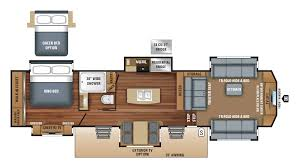 Fifth Wheel Floor Plans Bunkhouse 2018 Jayco 38flws Model
