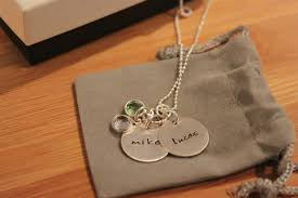 personalized pendant necklace lovely personalized jewelry for jc jewelry design review