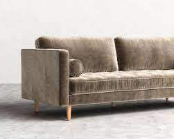 Sofa Bed Los Angeles Ca Luca Sofa Mid Century Modern Sofa Rove Concepts