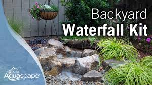 Waterfall For Backyard by How To Create A Backyard Waterfall Youtube