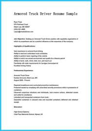driver resume example truck driving resume examples word truck