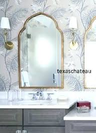 Bathroom Mirrors Overstock Arched Mirrors Bathroom Uttermost Gold Arch Decorative Wall Mirror