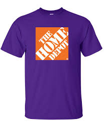 the home depot logo graphic t shirt supergraphictees