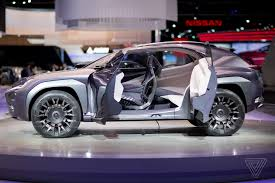 lexus crossover 2017 the lexus ux concept looks like it will chew you up and spit you