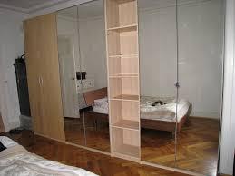 Sliding Mirror Closet Doors Ikea by Ikea Mirrored Wardrobe Doors Examples Ideas U0026 Pictures Megarct