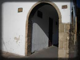 identities moroccan architecture arched passageway close up