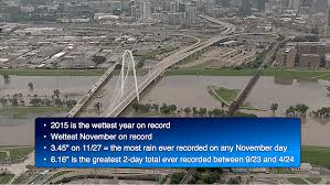 Dallas Radar Map by Dfw 2015 Is The Wettest Year On Record For Dallas Fort Worth