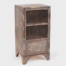 Metal Locker Nightstand Vintage Industrial Metal School Lockers Hudson Goods Blog