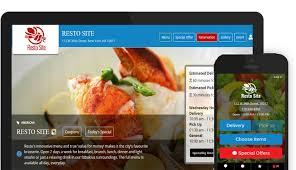 exemple am agement cuisine qikorders build restaurant website and mobile apps website for