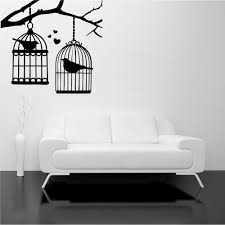 bird cage branch tree birds love wall art stickers decal mural bird cage branch tree birds love wall art stickers decal mural stencil transfer