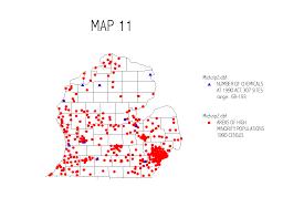 Michigan Zip Code Map by University Of Michigan Nre545 1997 Monograph