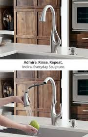 graceful kitchen faucet from brizo elegant kitchens faucet and